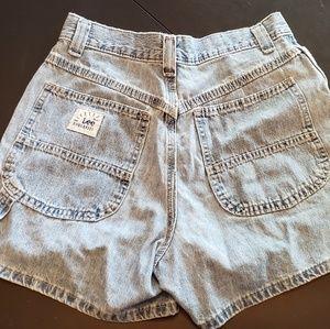 Lee Shorts - VINTAGE Lee riveted dungarees!